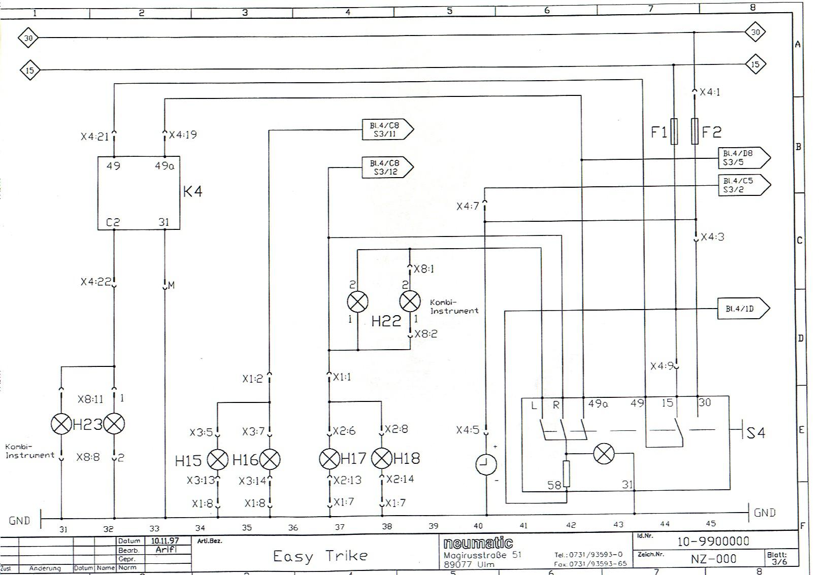 Gemütlich 4 Draht Zu 5 Draht Anhänger Schaltplan Fotos - Elektrische ...