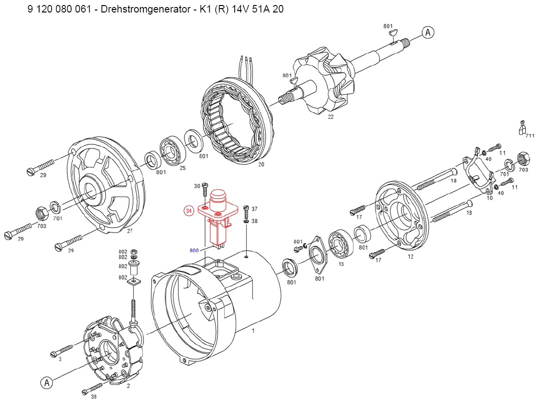 vw bosch alternator wiring diagram